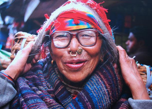 Dhanmaya Thami, de 75 años. Porteadora.