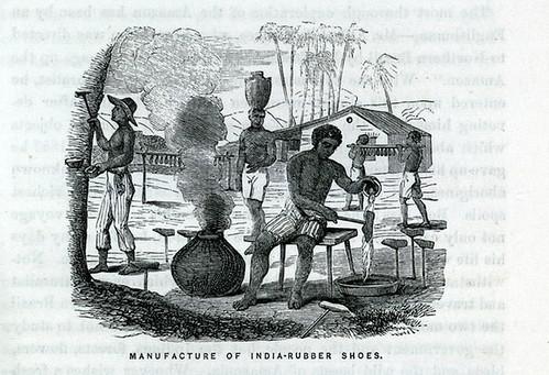 019- Manufactura de zapatos de goma indios
