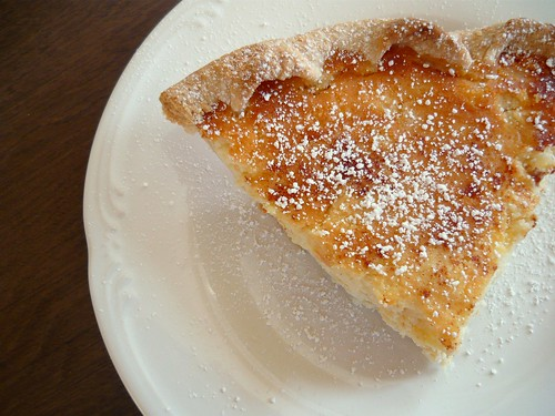 Ricotta & Pineapple Pie