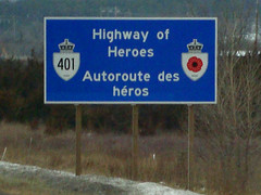 Highway of Heroes, Ontario, Canada