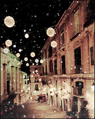 Salerno - my city (manlio_k) Tags: christmas texture snowflakes lights decoration hdr salerno manlio castagna photomatix tonemapped tonemap manliocastagna manliok