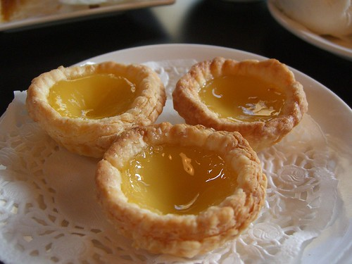 蛋嗒 Egg Tarts - Yum Cha Cafe AUD4.50 small