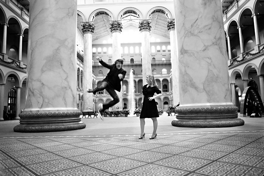 Joe and Jo(anna) Engagement- Washington, DC New Years Eve Shoot