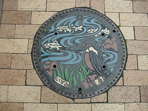 Izumi city, Osaka pref manhole cover(大阪府和泉市のマンホール)