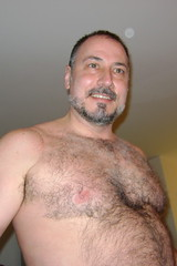 Fabulosh Furr (canadianlookin) Tags: bear gay friends party beer television fun football furry winnipeg nachos