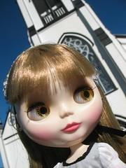 Christina in Lunenburg, Nova Scotia