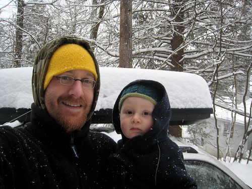 A farewell snowstorm