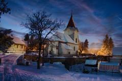 A winter's night (Stevacek) Tags: longexposure winter snow night geotagged evening nikon czechrepublic zima jicin d300 eskrepublika gorillapod jin staremisto starmsto geo:lat=5040509392853735 geo:lon=1534311603337391