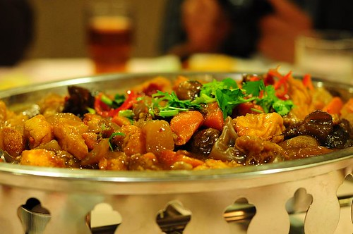 Stewed Golden Fungus with Vegetarian Tenderloin