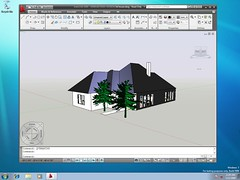 Windows 7 Beta with AutoCAD 2009