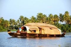 Quintessentially Kerala! (Shweta Wadhwa) Tags: travel cruise trees sea india lake water boat paradise coconut south houseboat kerala lagoon palm explore greenery serene arabian tranquil waterway backwater alleppey vembanad alappuzha godsowncountry d80 kettuvallam veniceofeast