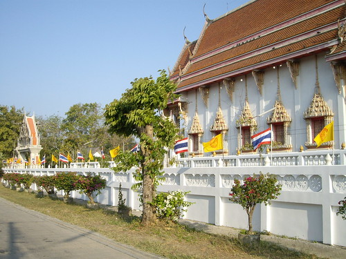 Saraburi Wat from the road
