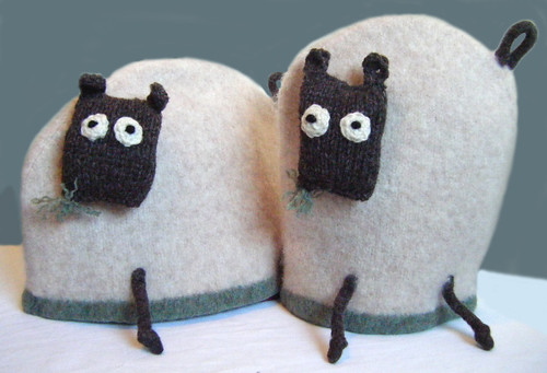 My Baboo Sheep Tea and Coffee Cosies