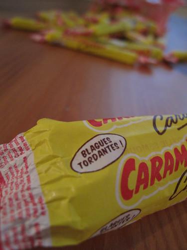 Tarte aux Carambars