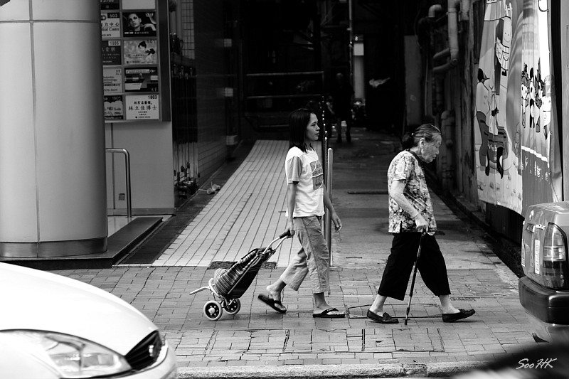 Hong Kong - Misc Street - The Walk