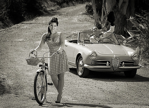 Alfa Romeos Giulietta Spider.