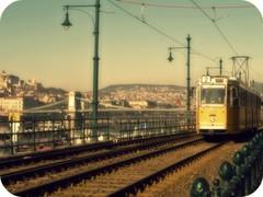 tram (repaa) Tags: budapest tram duna lánchíd villamos chainbridge ganz belváros