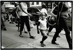 Apple in motion #32 (Thomas Solecki) Tags: blackandwhite bw newyork print kodak