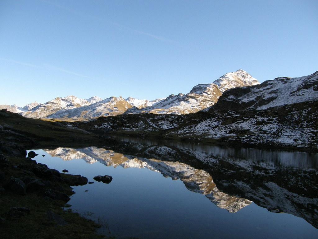 059-Reflejos en el Lago D'Ossoue