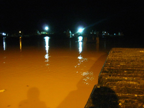 Water level at Ferry point