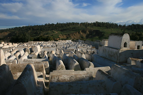 Jewish cemetery in Fes