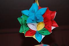 DSC_0045 (anamoniq) Tags: origami paperfolding kusudama kusudamamorningglory