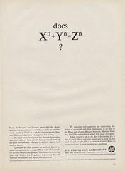 Jet Propulsion Laboratory Ad (bustbright) Tags: november vintage ads advertising design graphicdesign graphics technology graphic tech science 1961