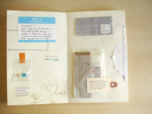envelope book: two.