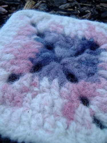 007 felted swatch results