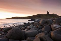 Dunstanburgh Dawn North (colesfromnewcastle) Tags: sea england tower castle coast rocks north east questfortherest dunstanburgh