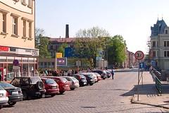 Free to Roam (feelix) Tags: street bridge geotagged crossing view czech border poland most cieszyn frontier bordercrossing schengen grenzübergang grenze granica olza teschen těšín