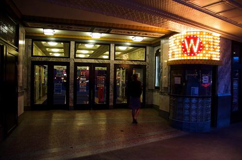 Wilma Theatre entrance