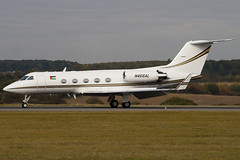 N456AL - 405 - Private - Gulfstream III - Luton - 091015 - Steven Gray - IMG_2492