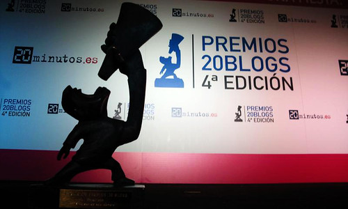 Premios 20Blogs - estatua