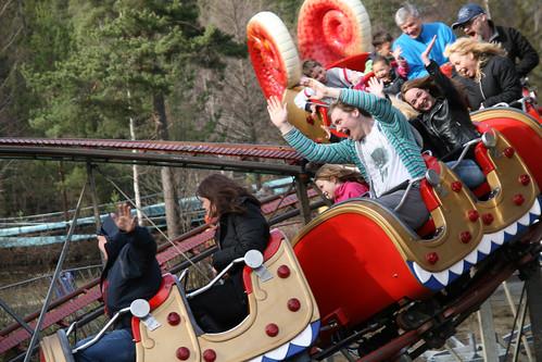 Aktiv i Oslo tok turen til Tusenfryd for å teste karusellene der. Her ser du klassikeren Dragen, som er morsom både for liten og stor.