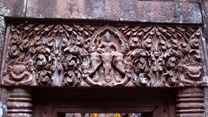 Vat Phu Stone carving