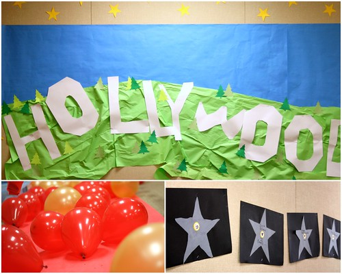 Movie Star Decorations