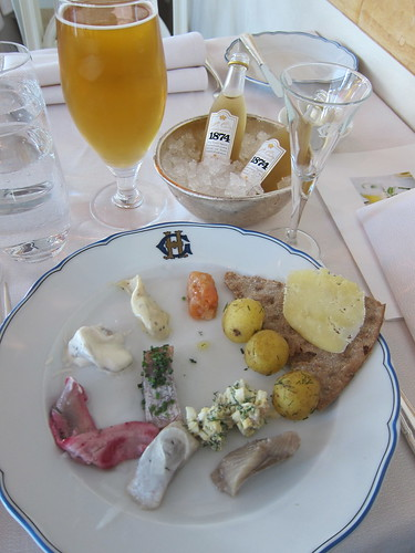 Smörgåsbord at the Grand Hotel