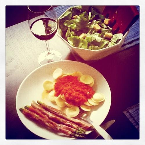 Dinner for  <a href=