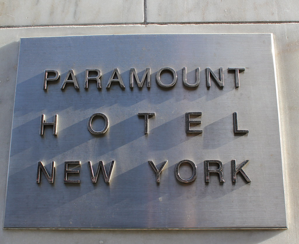Paramount Hotel. New York.