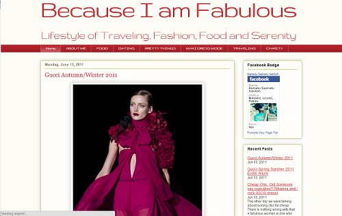 Because I am Fabulous