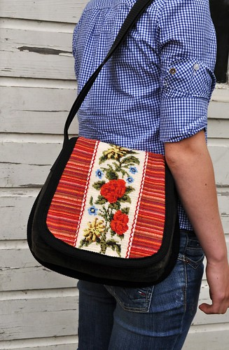 Red flowerbag