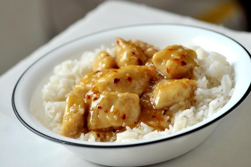 honey seared chicken