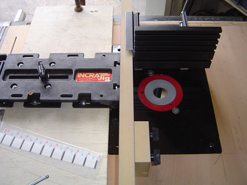 Incra Precision Positioning jig - before its first use