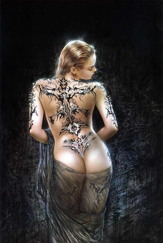 Fantasy Art - Luis Royo Tattoo Woman Gothic dd's porn teen qwerty