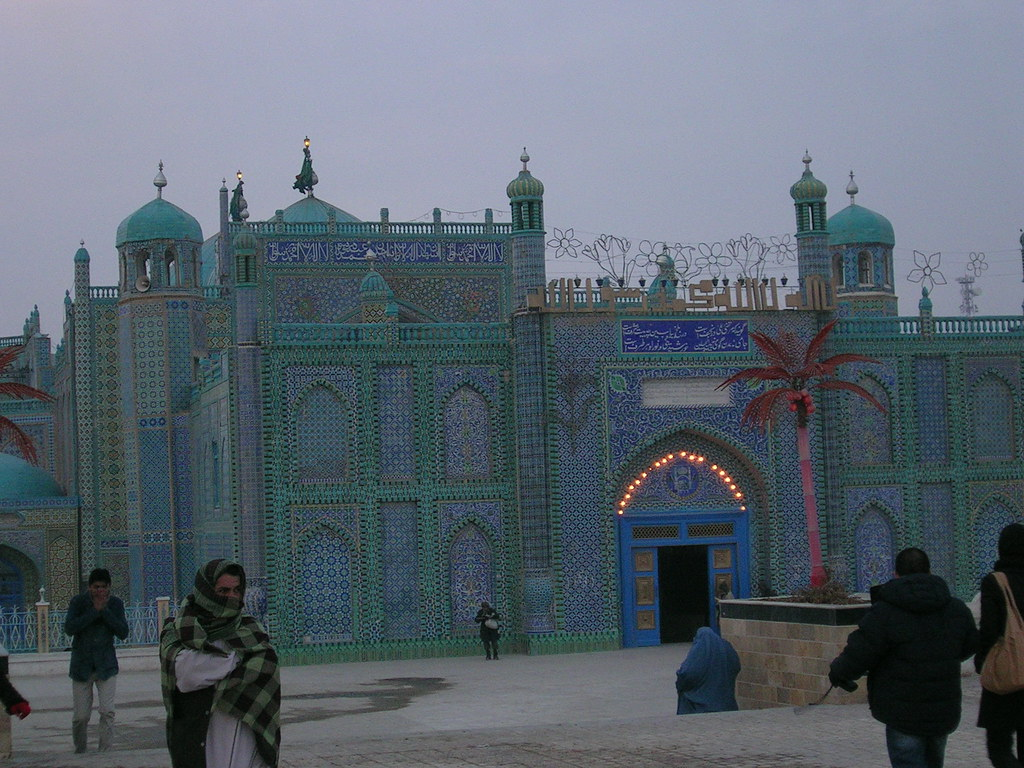 Why Afghanis have Imam Ali Shrine in Mazar_e_Shari - Personalities