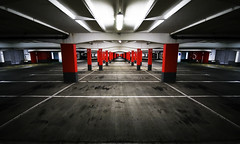 Original Pirate Material (01101001 01100001 01101110) Tags: uk light england reading garage parking area carpark berkshire savedbythedeltemeuncensoredgroup