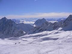 Panorama auf der Zugspitze