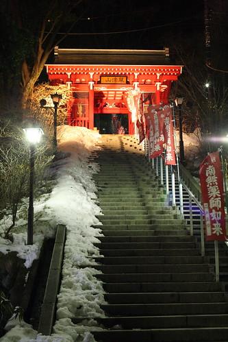 光泉寺もライトアップ