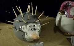 'Possum Toothpicks (jugglerpm) Tags: travel possum mountain star toothpicks oppossum starmountaintravel eatlikearabbitnet